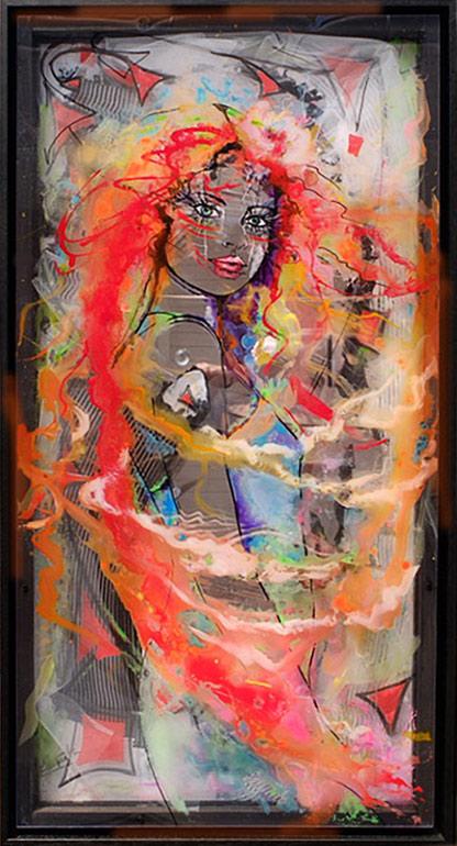 La dame de feu
