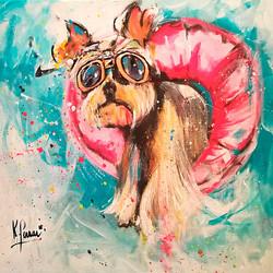 Dog in summertime II