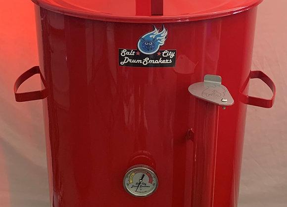 *Gloss Red* Standard Salt City Drum Smoker