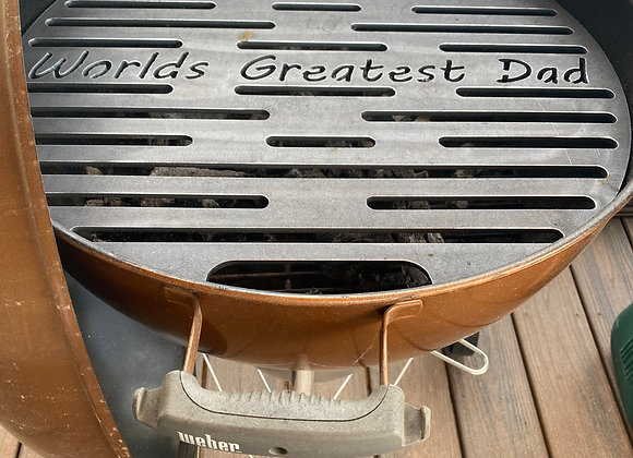 *Custom* 22inch Weber Kettle Grill replacement Grate Heavy Duty