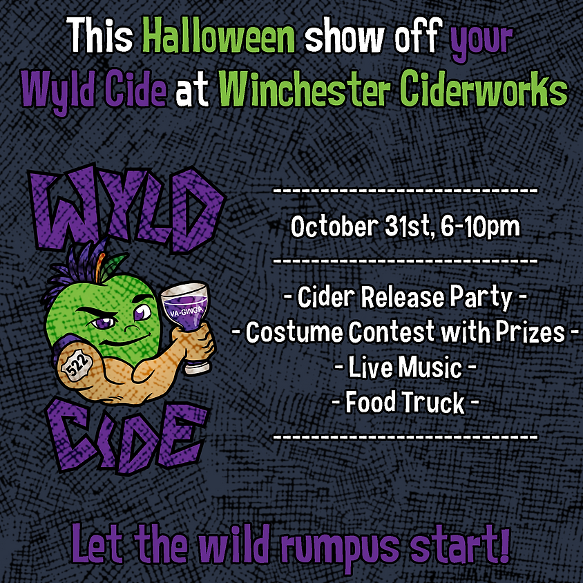 Halloween Cider Release and Costume Party