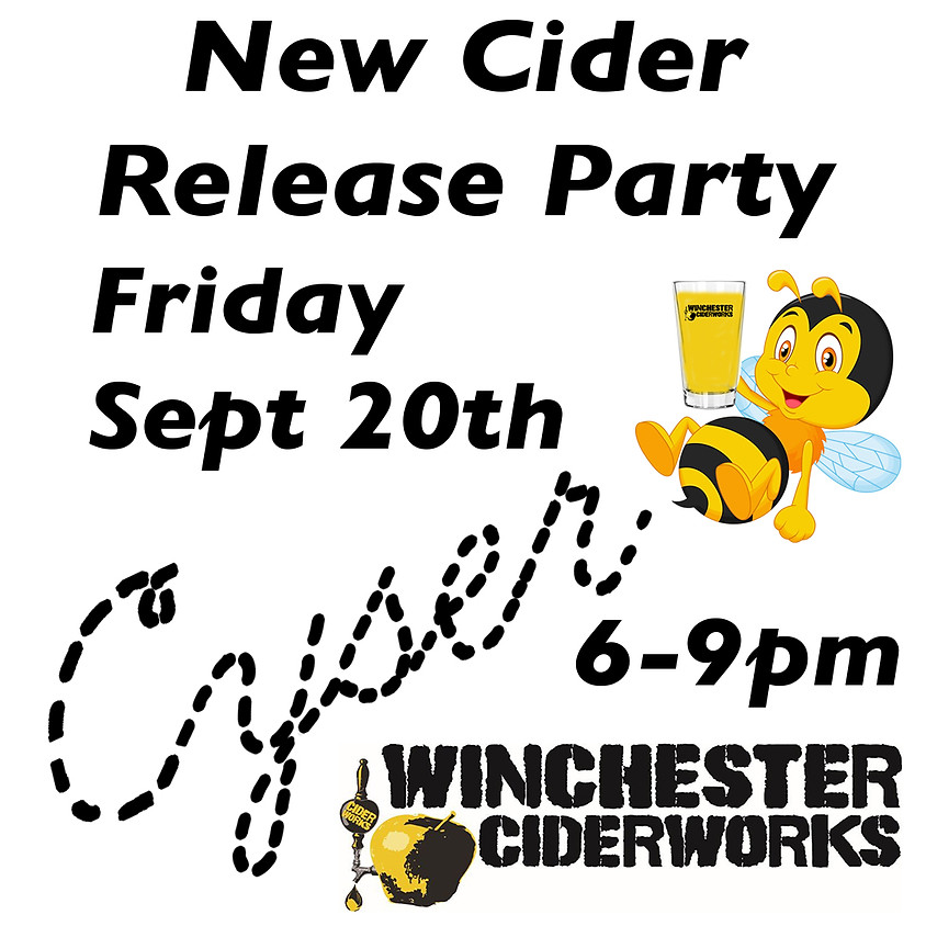 New Cider Release party