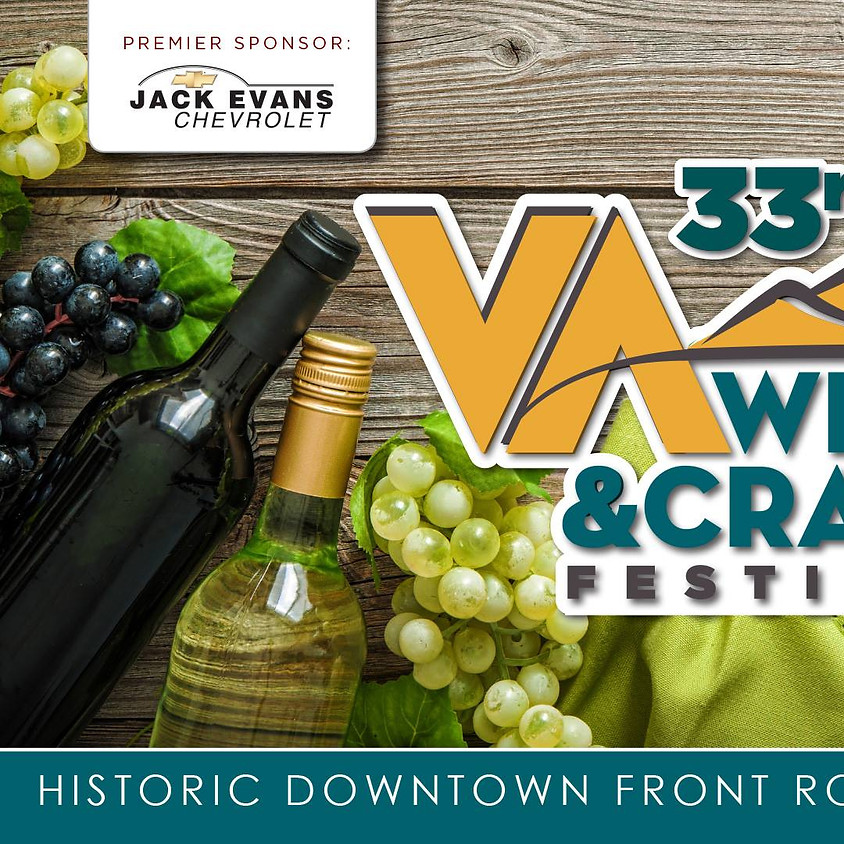VA Wine and Craft Festival - Front Royal VA