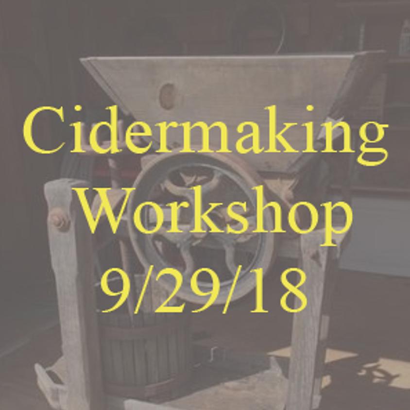 Cidermaking Workshop