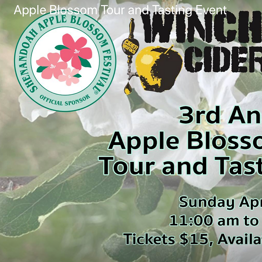 Apple Blossom Tour and Tastings at Winchester Ciderworks