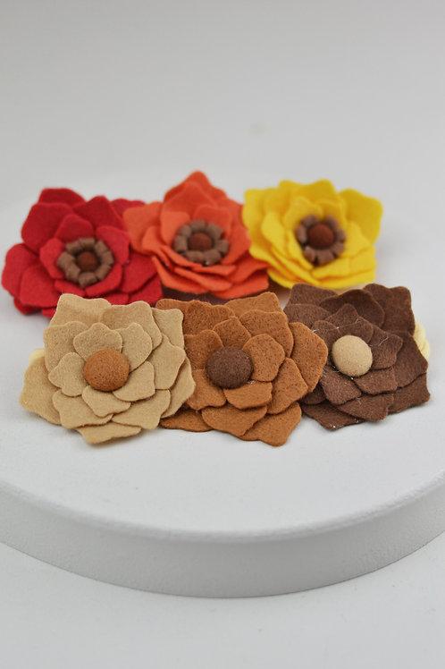 Conjunto de Trio de Flores