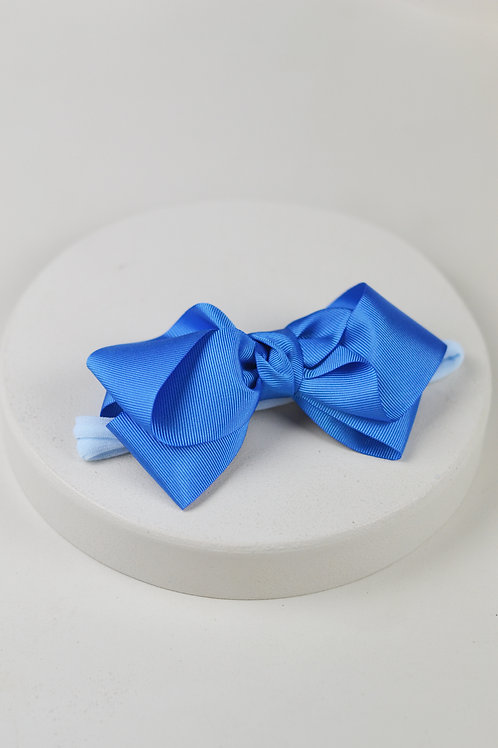 Laço Grande Azul Celeste