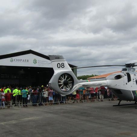 Quixadá ganha base de apoio aéreo para socorro e segurança.