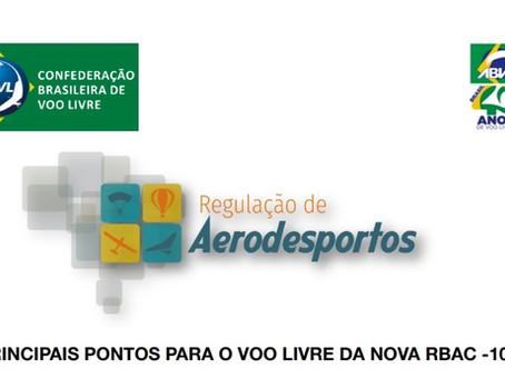 Nova Regulação de Aerodesporto da ANAC (Resumo CBVL)