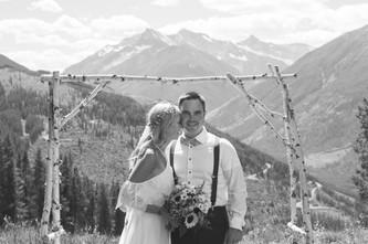 canadian wedding photographers mountains