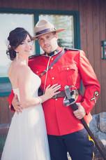 ontario mountie wedding photographer