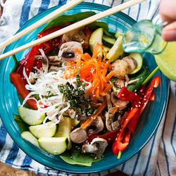 fuze menu green curry bowl
