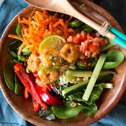 fuze menu tai salad