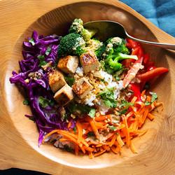 fuze menu satay bowl