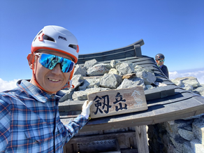 秋晴れ剱岳ガイド