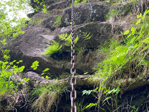 角落山と剣の峰