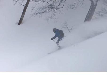 大量降雪後のLv3レギュラーBC