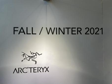 東京出張/ARC'TERYX 展示会