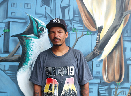 Paulistano mudou sua comunidade por meio da arte urbana