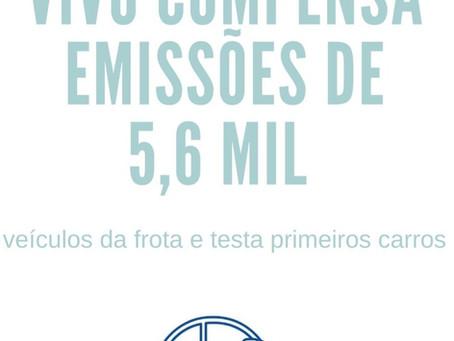Vivo compensa emissões de 5,6 mil veículos da frota e testa primeiros carros elétricos