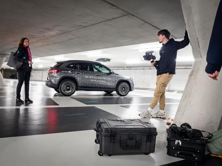 Dubbeldwars in Den-Bosch voor de videoproductie van de EQA.