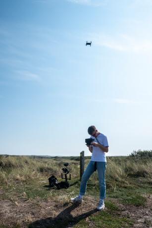 Dubbeldwars- drone video's