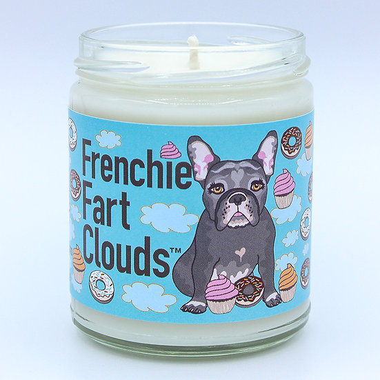 FRENCHIE FART CLOUDS® dark