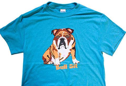 Bull Sit Shirt | Bulldog Rescue Shirt