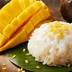 Nouveau-Riz gluant à la mangue