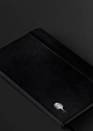 9-forest notebook stationery-premium-moc