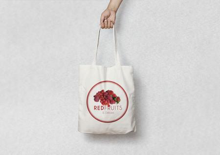 red fruit Canvas Tote Bag MockUp large.j
