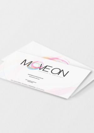 3-move on Business Card Mockup 01 (Free