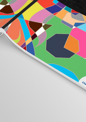 3-Clairefontaine A4 Magazine Mockup - Fr