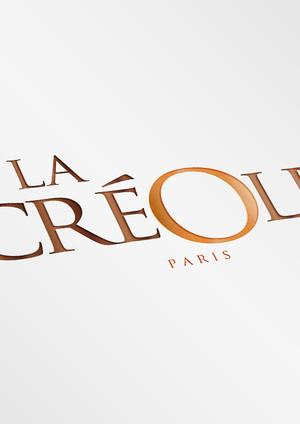 1-la creole paris Realistic Logo Mock-Up