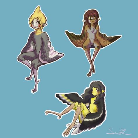 smol harpies