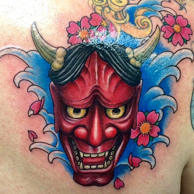 Instagram - #hannya #mask #tattoo #tattoos #ink