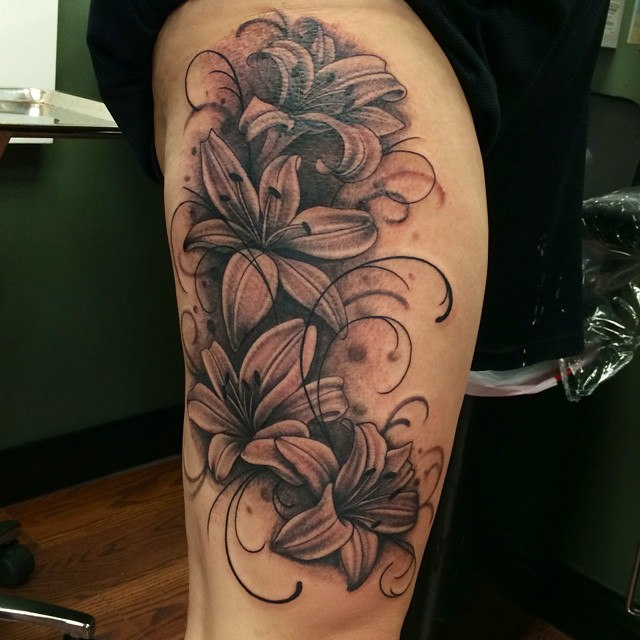 Instagram - #lillies #tattoo #tattoos #ink #inked