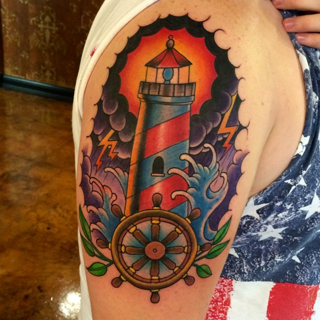 Instagram - #lighthouse #tattoo #tattoos #ink