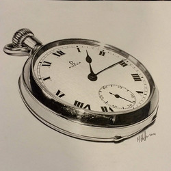 Instagram - #pencil #drawing #sketch #art #pocktwatch #pocket #watch #time