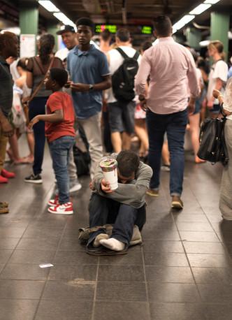 Subway, New York City, New York