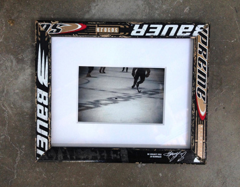 Hockey Stick Frames and Original Images