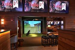Bobby V's Restaurant Golf Simulator