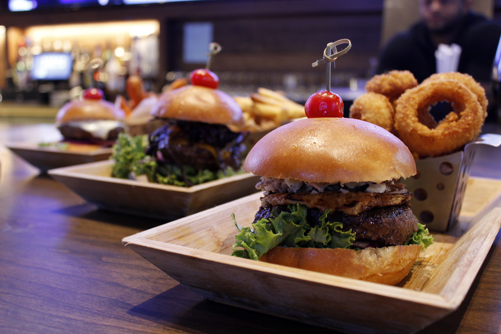 Handcrafted burgers at Bobby V's