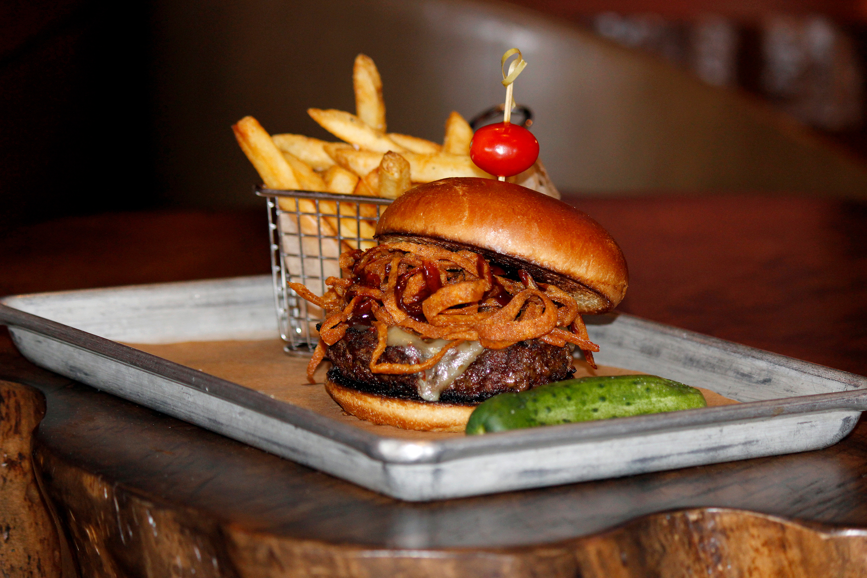 Bobby V's handcrafted burgers