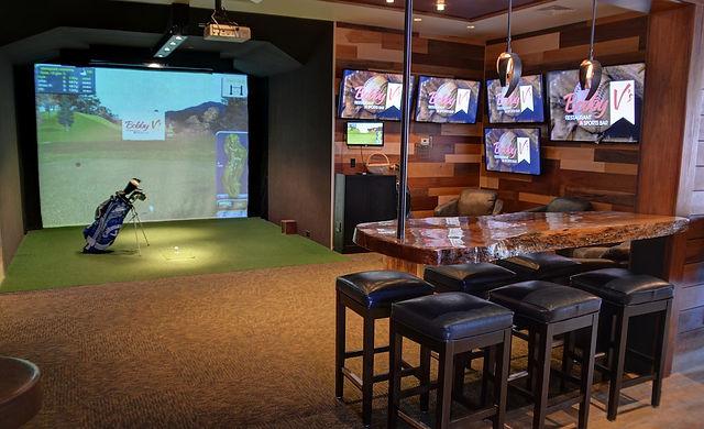 Golf Simulator for Apartments