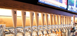 Over 32 tap lines at Bobby V's