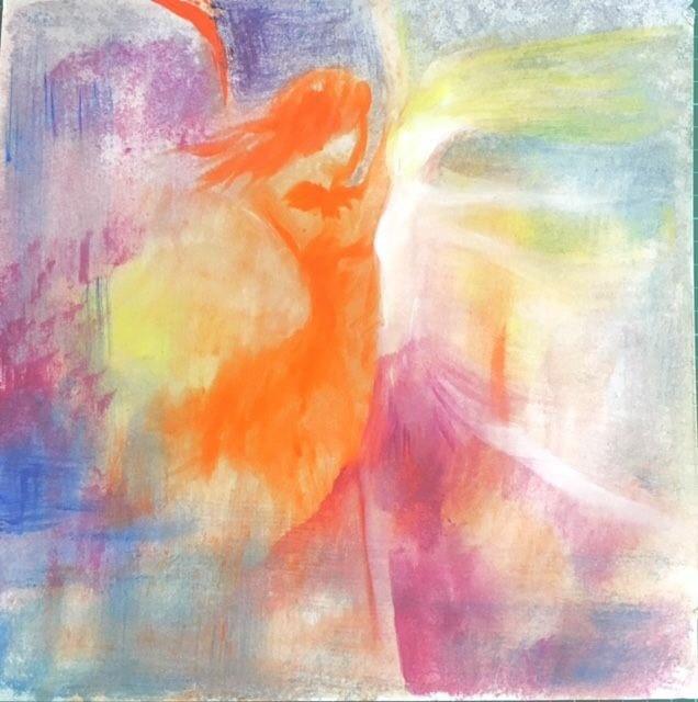 心內畫從感受著手,藝術創作自然而然發生。