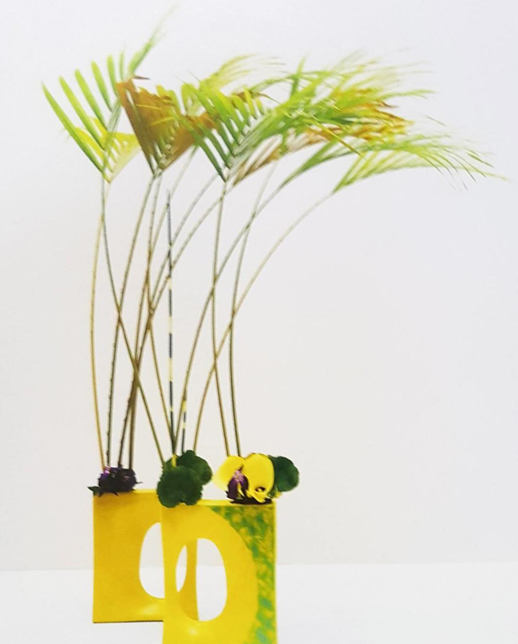 2007 年得獎作品「靚風」(自由花)。