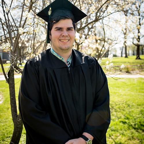 Kyler - spring/graduation photos