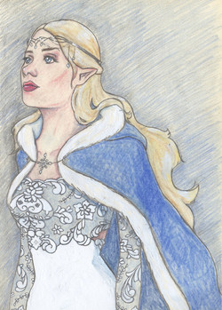 'Lady Wintertide' by Anne Noguchi